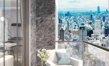 80平米三室两厅其他风格阳台装修效果图