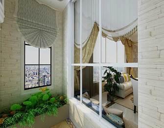 140平米四室一厅北欧风格阳台图片大全