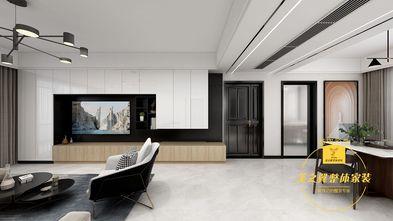 80平米三室两厅现代简约风格餐厅图片大全