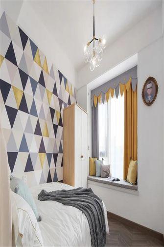 110平米三室一厅北欧风格儿童房欣赏图
