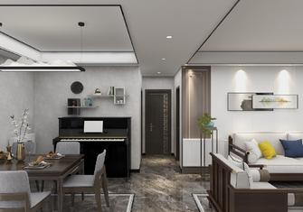 140平米三室一厅中式风格走廊图