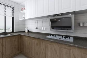 120平米混搭风格厨房图