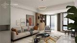 130平米四室两厅混搭风格客厅设计图