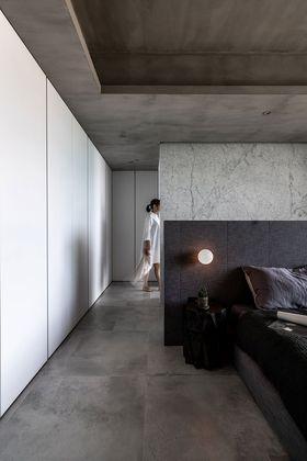 富裕型80平米現代簡約風格臥室圖