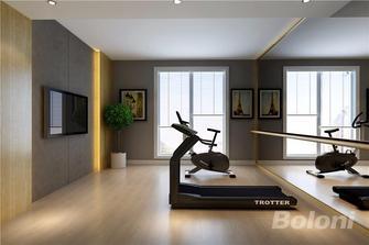 100平米三室两厅现代简约风格健身室图片大全