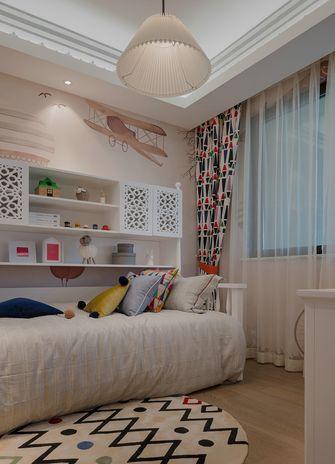 80平米三室三厅英伦风格儿童房图