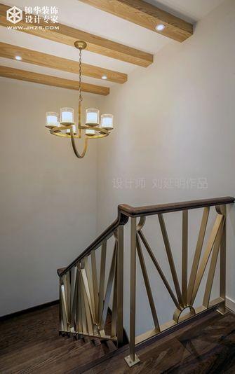 20万以上140平米别墅现代简约风格楼梯装修图片大全