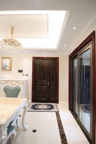 富裕型120平米三室两厅欧式风格玄关装修图片大全