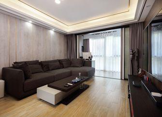 130平米三美式风格客厅设计图