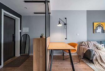 50平米一居室混搭风格餐厅图