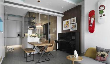 50平米一室一厅现代简约风格餐厅图片