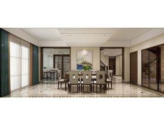 140平米复式中式风格餐厅图片