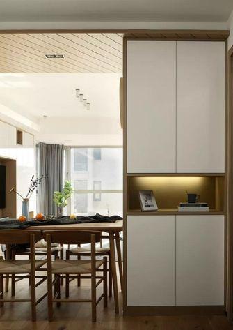 110平米三室五厅日式风格玄关设计图