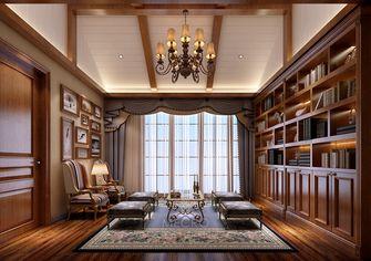 140平米别墅英伦风格书房欣赏图