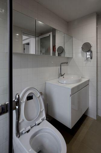 60平米公寓现代简约风格卫生间欣赏图