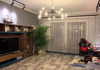 120平米三室两厅田园风格客厅装修图片大全