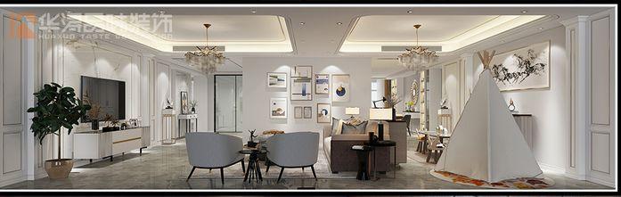 20万以上140平米四现代简约风格客厅欣赏图