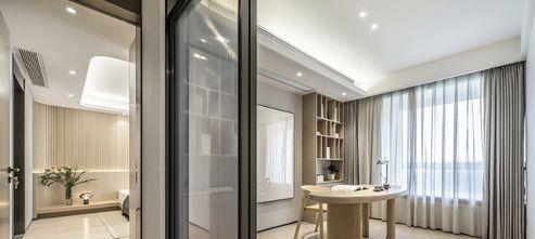 110平米三欧式风格书房图片大全
