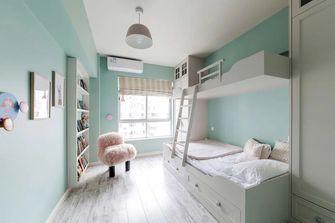 120平米三室两厅法式风格卧室图