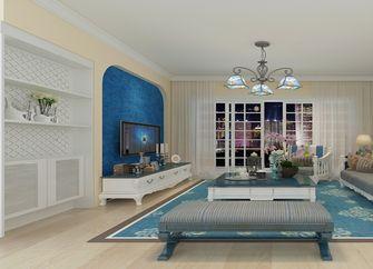 15-20万80平米三室三厅地中海风格客厅装修效果图