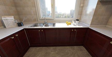 110平米四室两厅中式风格厨房设计图