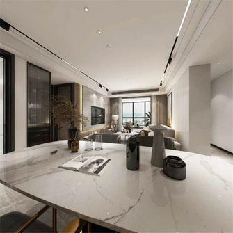 80平米一室两厅混搭风格餐厅图