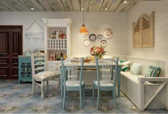 120平米三地中海风格餐厅图