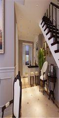 140平米美式风格楼梯间设计图