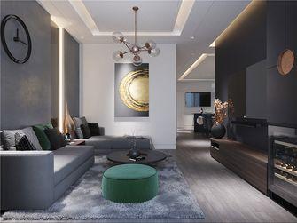 140平米三现代简约风格客厅图片大全