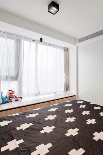 80平米现代简约风格儿童房设计图