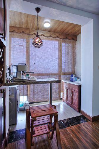 120平米三室两厅东南亚风格阳台图片大全