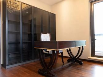140平米四室五厅美式风格书房设计图