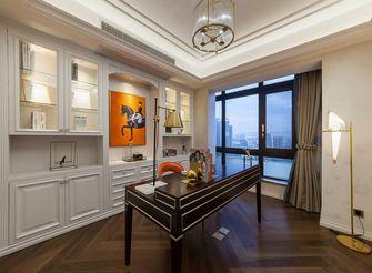 80平米三室两厅宜家风格书房图