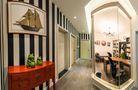 90平米法式风格书房效果图