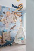 80平米三室两厅美式风格儿童房图片大全