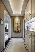 130平米三室两厅现代简约风格走廊门口图片大全