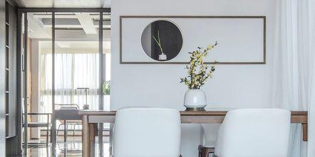 100平米三室两厅中式风格餐厅效果图