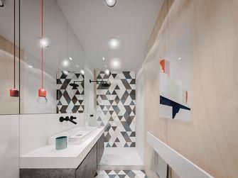 50平米一居室现代简约风格卫生间欣赏图