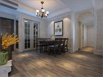 140平米三室两厅欧式风格餐厅图片大全