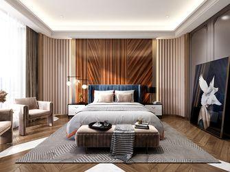 140平米三室一厅法式风格卧室图片