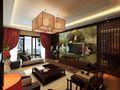 120平米三室两厅中式风格阁楼装修效果图