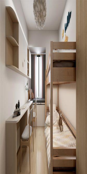 130平米三室两厅日式风格儿童房图