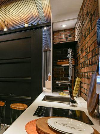 140平米复式现代简约风格厨房图片