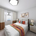 40平米小户型北欧风格卧室装修图片大全
