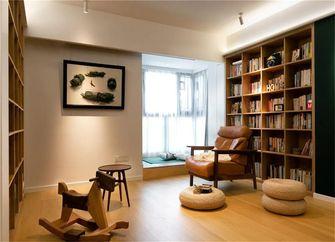 90平米三室一厅现代简约风格书房图片