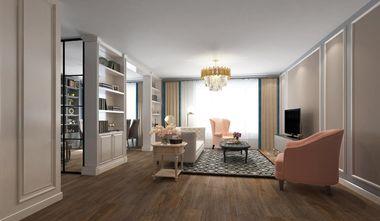 130平米三室三厅美式风格客厅图片大全