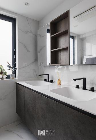 110平米现代简约风格卫生间装修案例