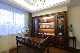 法式風格書房裝修案例