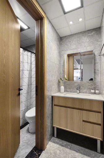 80平米一室一厅宜家风格卫生间设计图