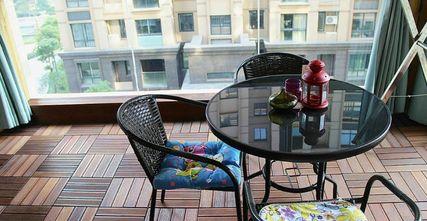 130平米三室两厅地中海风格阳台欣赏图